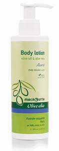 bodylotion aura aloë vera macrovita olive-elia