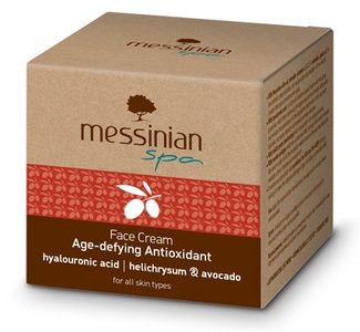 anti-aging gezichtscreme messinian spa