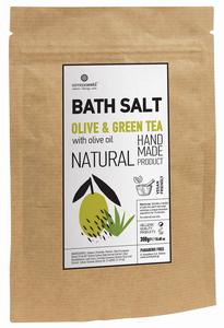 natuurlijk badzout groene thee