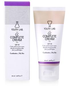 cc cream spf 30 vette huid youth lab