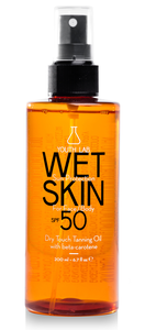 wet skin sun protection tanning oil youth lab