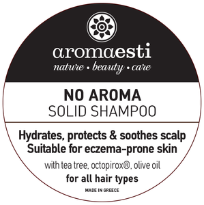 solid shampoo bar zonder geur- en kleurstoffen
