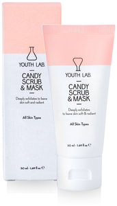 candy face scrub mask youth lab