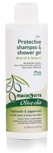 shampoo & douchegel eczeem en psoriasis olive-elia