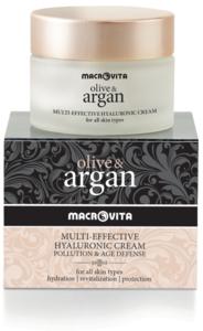 Macrovita Olive & Argan gezichtscreme hyaluronzuur
