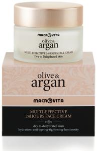 Arganolie gezichtscrème (droge huid)