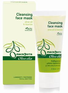 Reinigend gezichtsmasker macrovita olive-elia