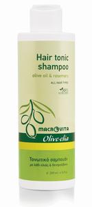 Tonic shampoo voor elk haartype macrovita olive-elia