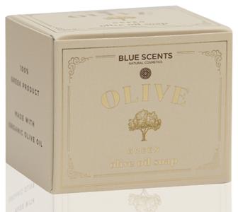 groene olijfolie zeep blue scents