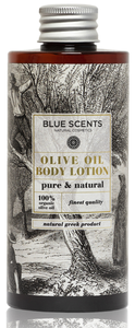 pure natural olive oil bodylotion blue scents