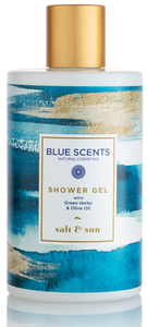 Douchegel Salt & Sun blue scents