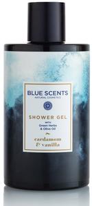 douchegel cardamom vanilla blue scents