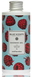 douchegel red berries blue scents