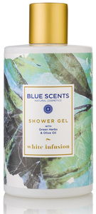 douchegel white infusion blue scents