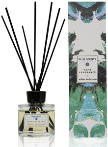 white infusion geurstokjes blue scents