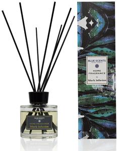 black infusion geurstokjes blue scents