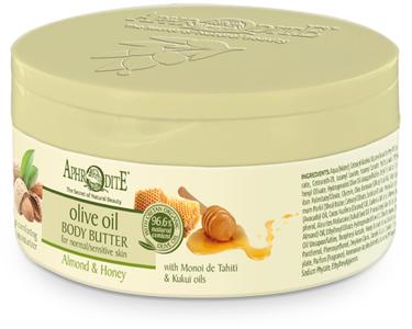 aphrodite body butter amandel en honing