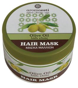 natuurlijk haarmasker met olijfolie