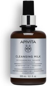 apivita cleansing milk