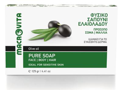 pure olijfzeep macrovita