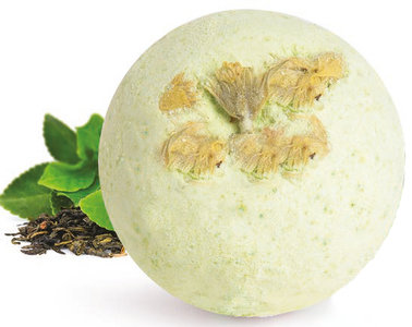 natuurlijke bruisbal groene thee