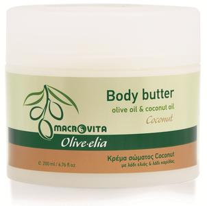 macrovita olive-elia body butter kokosolie