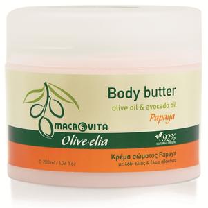 macrovita olive-elia Body butter papaya