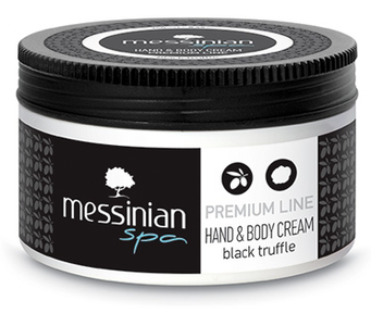 Messinian Spa black truffle body cream