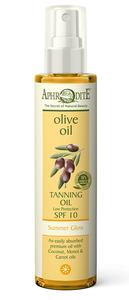 tanning olie aphrodite