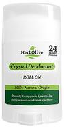 herbolive kristal deodorant roller