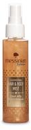 Messinian Spa Body Mist glitters